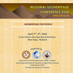 REGIONAL GEOHERITAGE CONFERENCE 2018 FIRST CIRCULAR